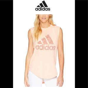 Adidas Athletic ID Winners Workout Tank Top Tee